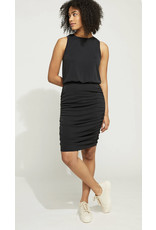 RUCHED TANK DRESS
