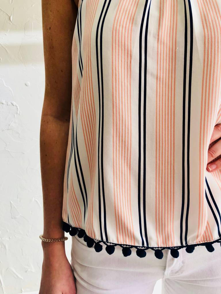 ADDELAH STRIPE TOP