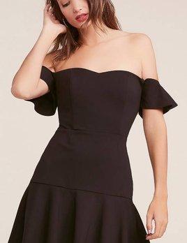FREAKUM BLACK FLARE DRESS