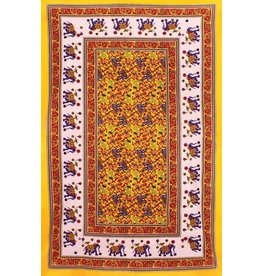 Colorful Animals Indian Tapestry