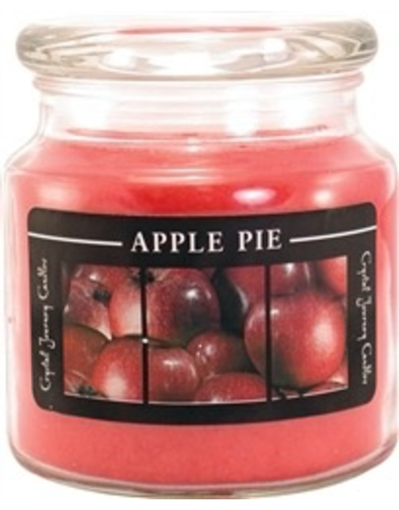 Crystal Journey Warm Apple Candle