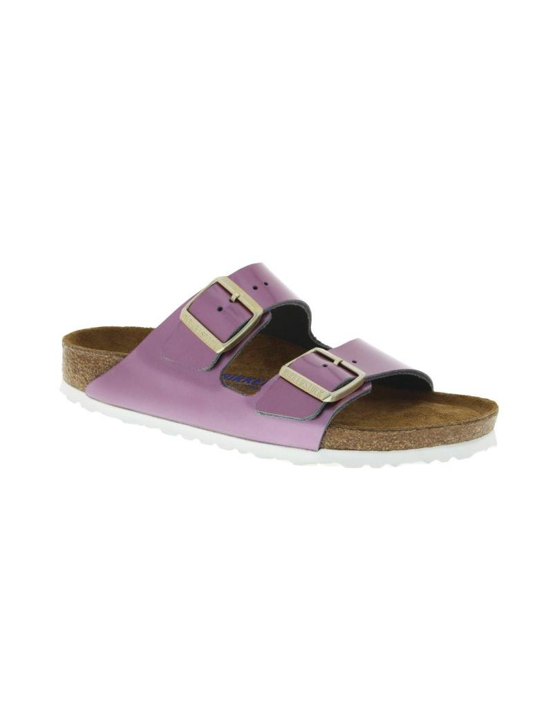 Birkenstock Arizona Soft Footbed Spectacular Pink Leather