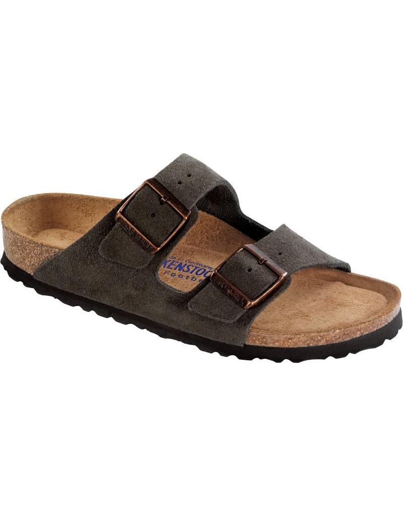 Birkenstock Arizona Soft Footbed Mocha Suede Sandal