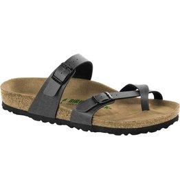 Birkenstock Mayari Anthracite Pull-Up Vegan Sandal