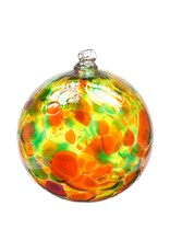 "3"" Calico Ball Autumn Leaves"