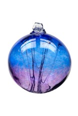 "6"" Olde English Witch Ball-Cobalt/Amethyst"