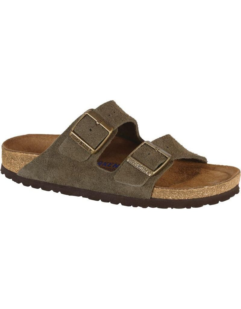 Birkenstock Arizona Soft Footbed Forest Suede Leather