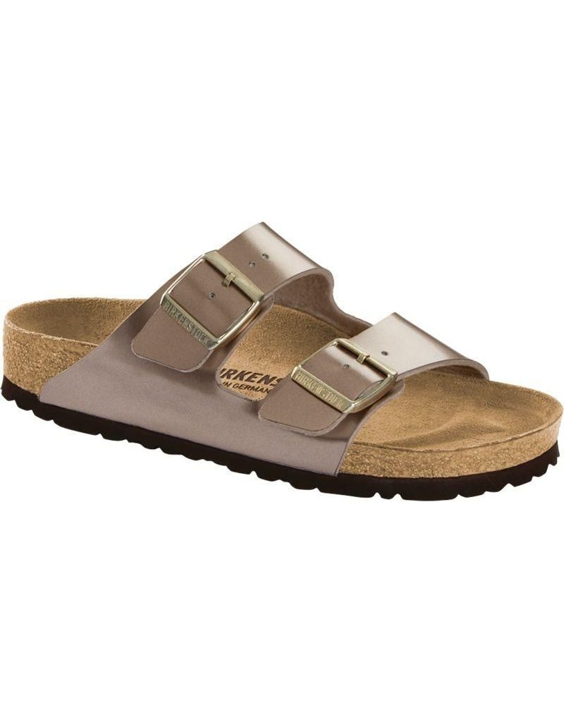 Birkenstock Arizona Electric Metallic Taupe Sandal