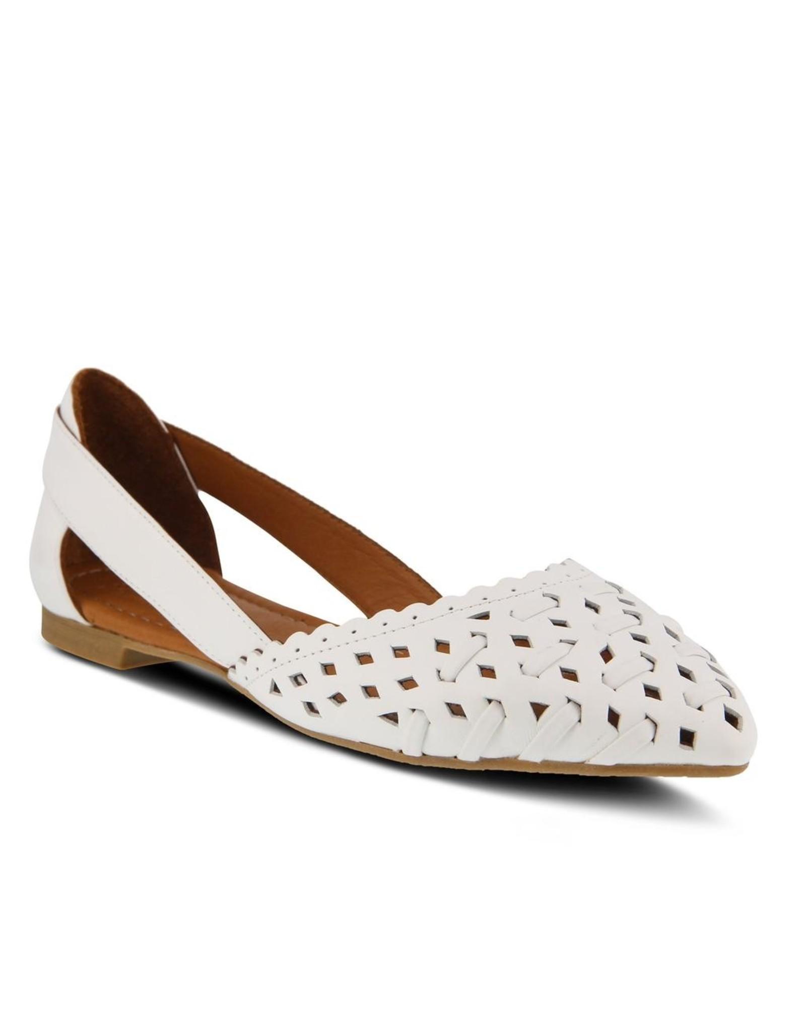 Delorse Leather Slip On Shoe