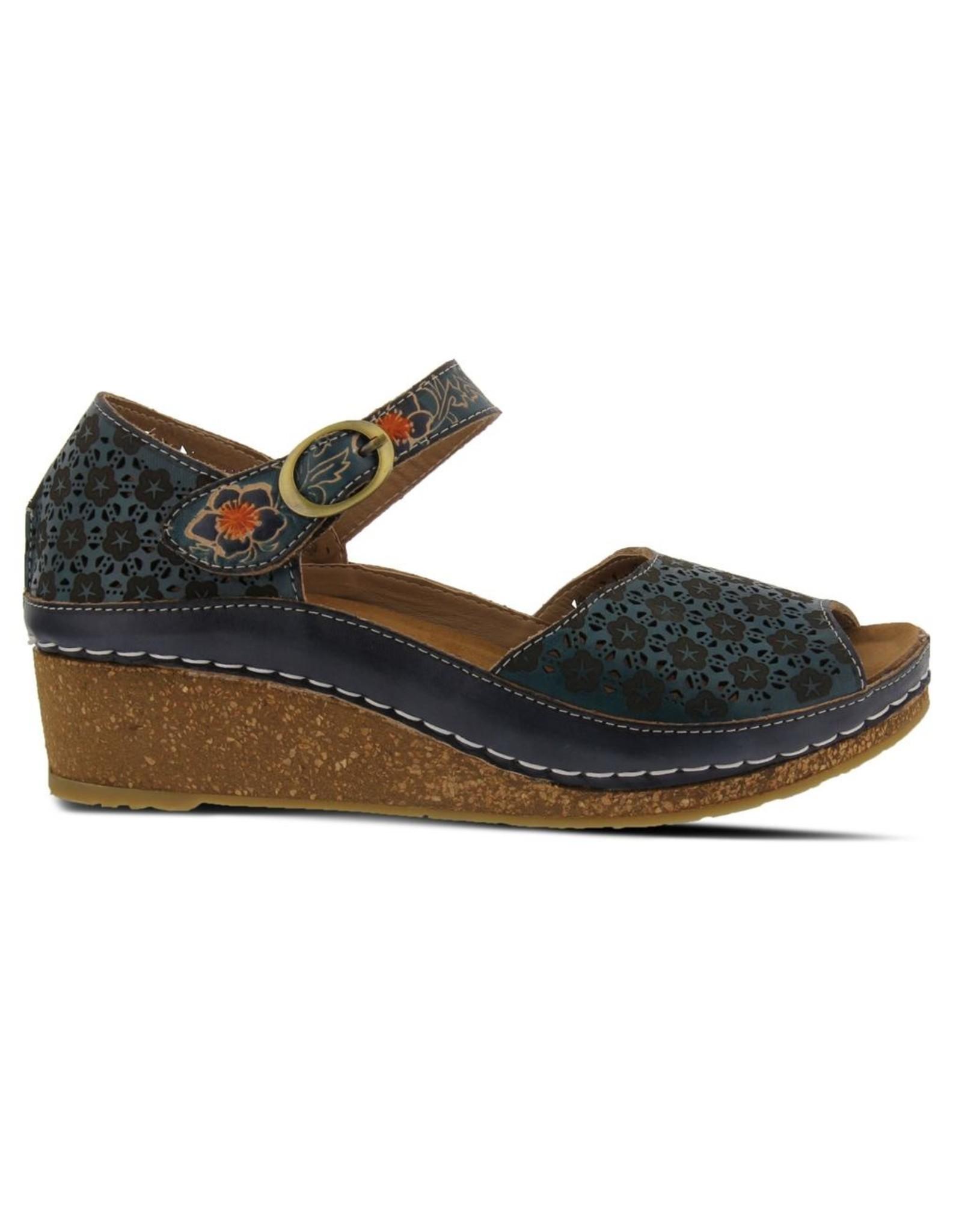 Delphia Leather Ankle Strap Sandal