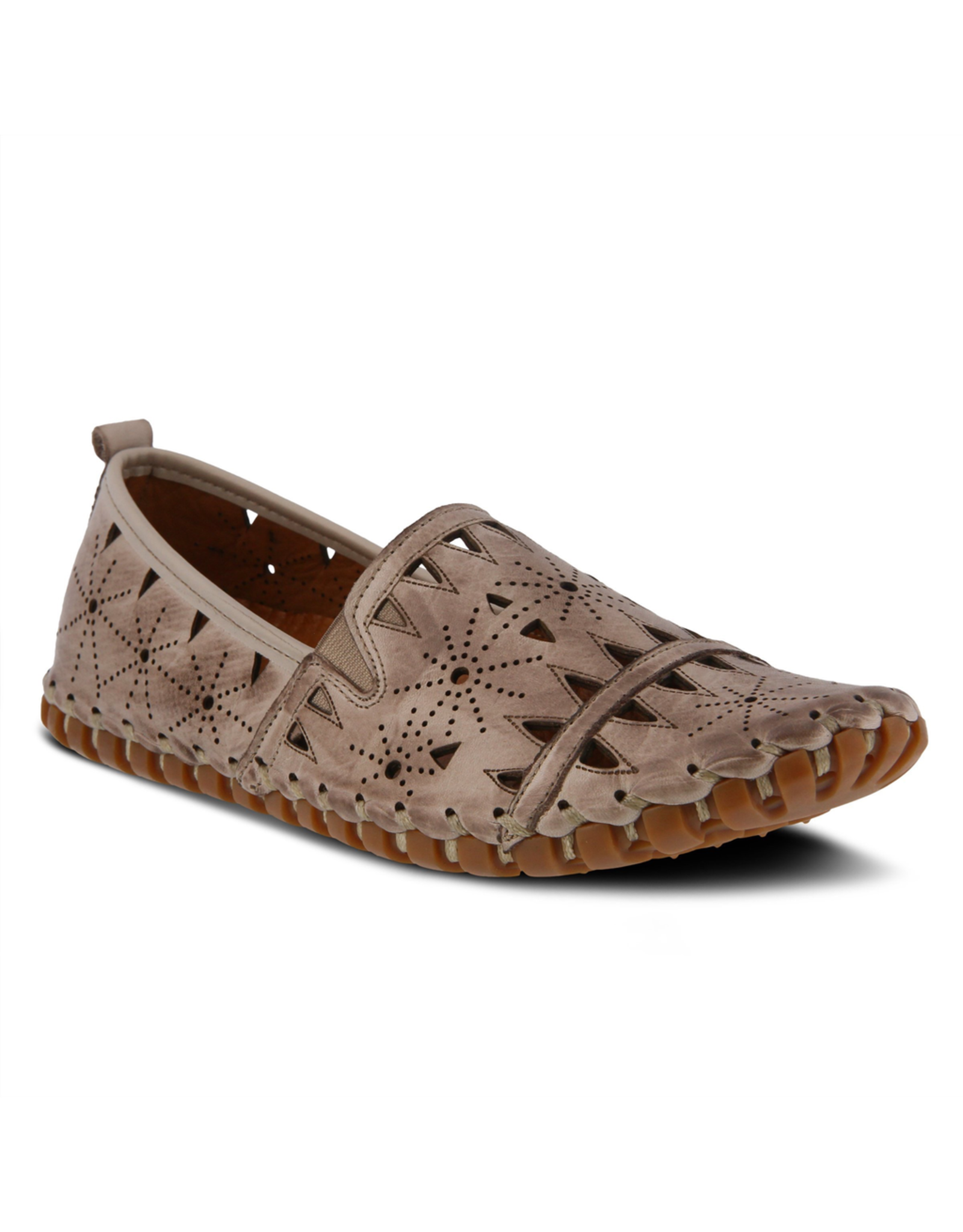 Fusaro Leather Slip On Shoe