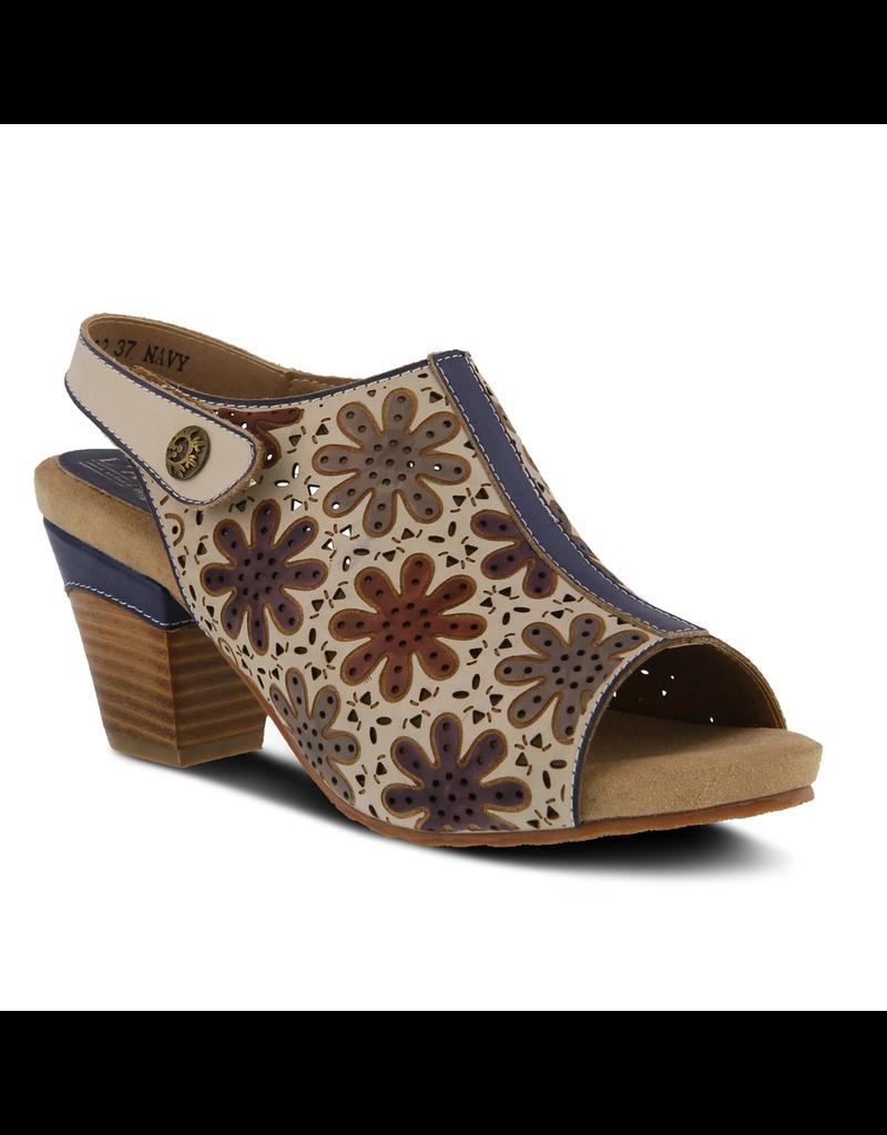 Racquel Leather Slingback Sandal