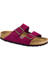 Birkenstock Arizona Sandal Soft Footbed Antique Port Suede