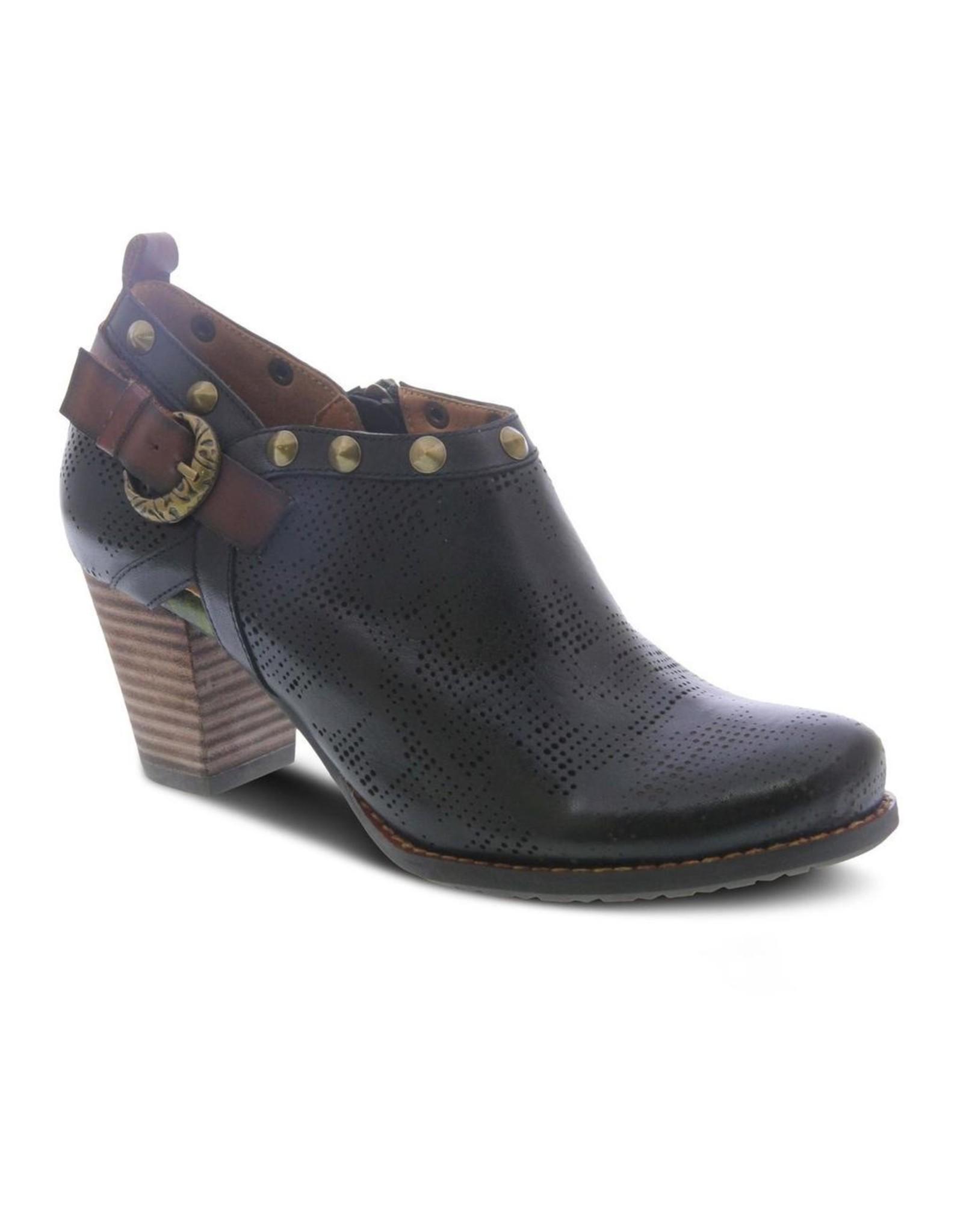 Kacie Leather Bootie