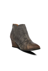 Melodie Leather Bootie