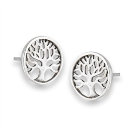 Tree of Life Post Earring