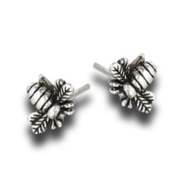 Bumble Bee Post Earring