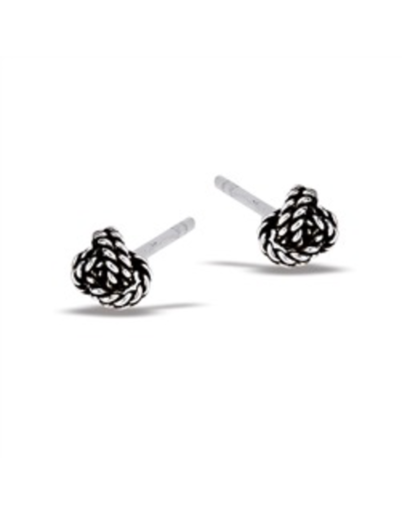 Rope Knot Post Earring