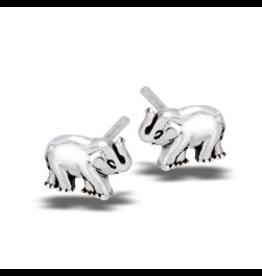 Baby Elephant Post Earring