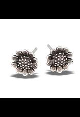 Sunflower Post Earring