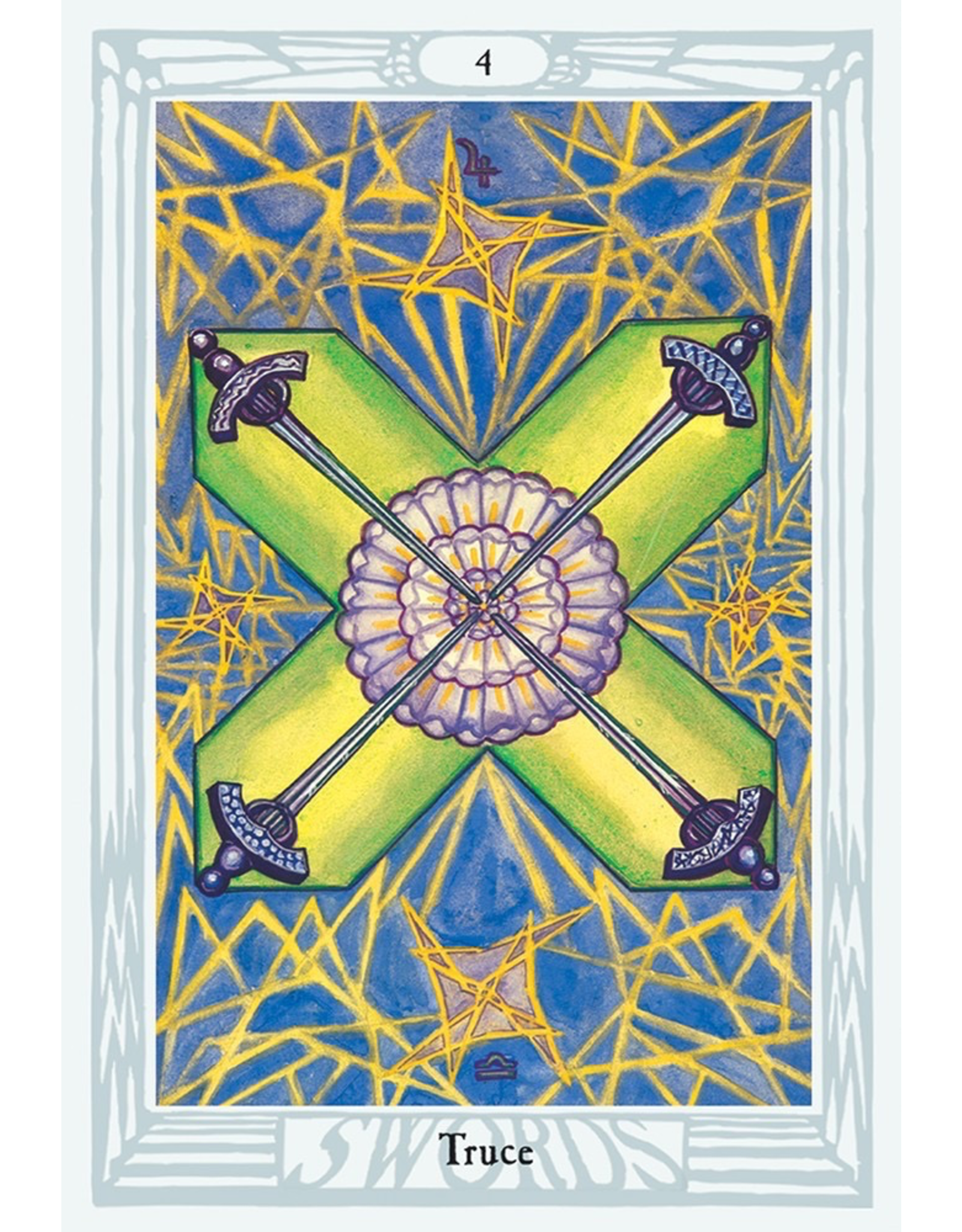Crowley Thoth Tarot Deck Large