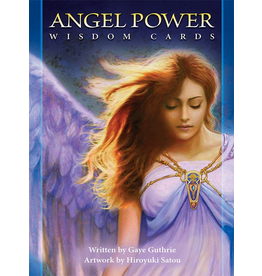 US Games Angel Power WIsdom Cards