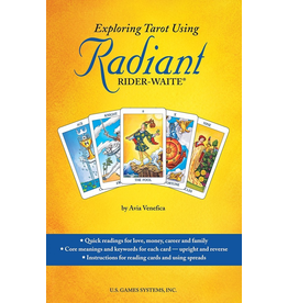 US Games Exploring Tarot Using Radiant Rider-Waite Book