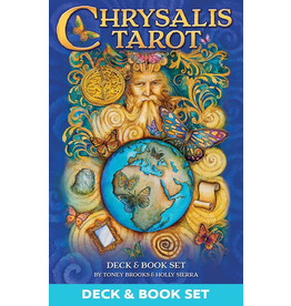 US Games Chrysalis Tarot Deck & Book Set