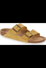 Birkenstock Arizona Sandal Soft Footbed Ochre Suede