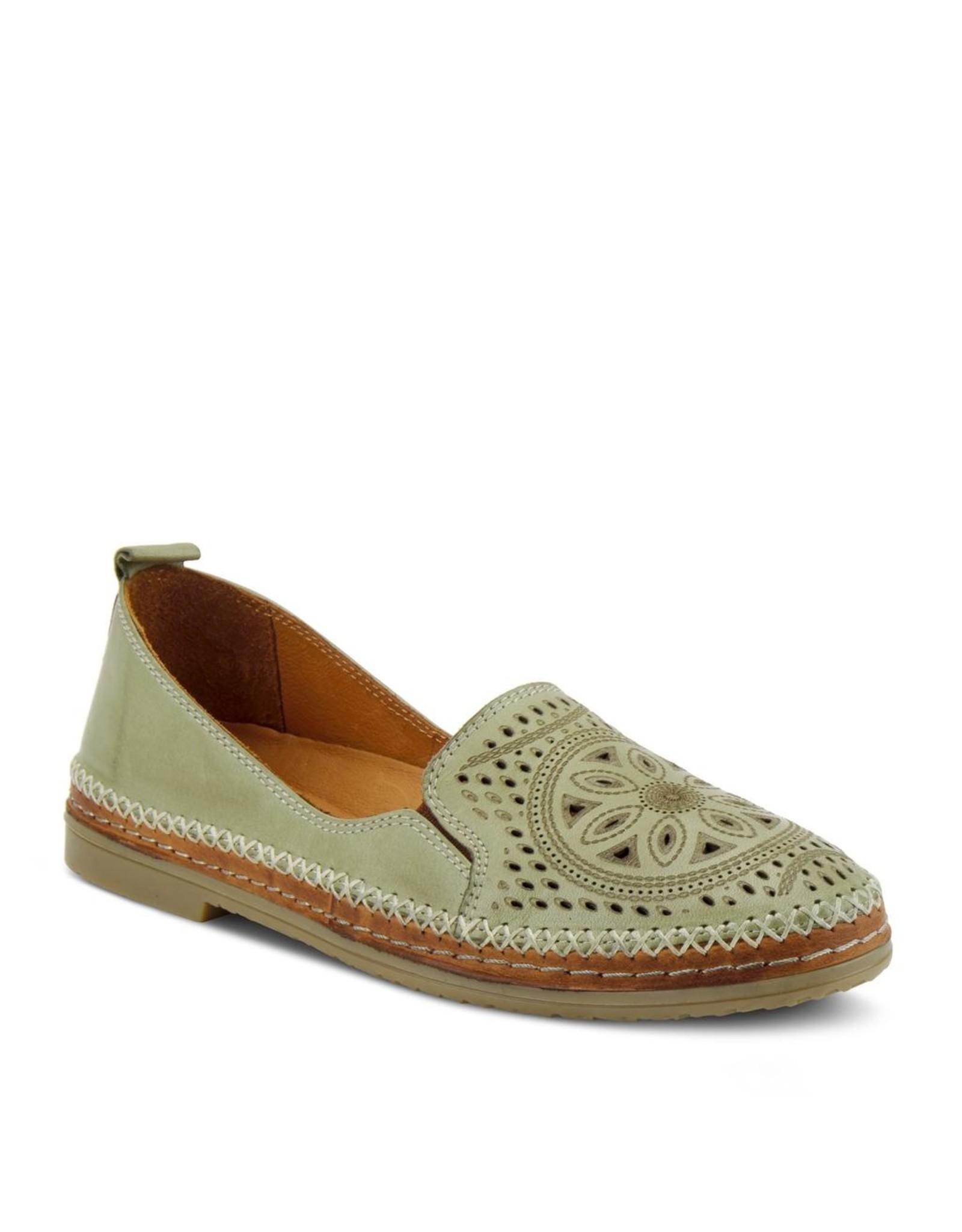 Ingrid Leather Slip On Shoe