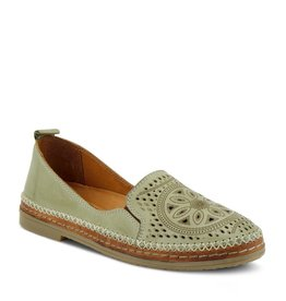 Ingrid Leather Slip On Shoe