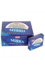 HEM Myrhh Incense Cones