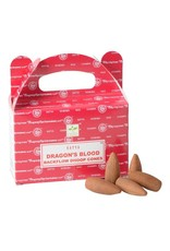 Satya Dragon's Blood Backflow Incense Cones