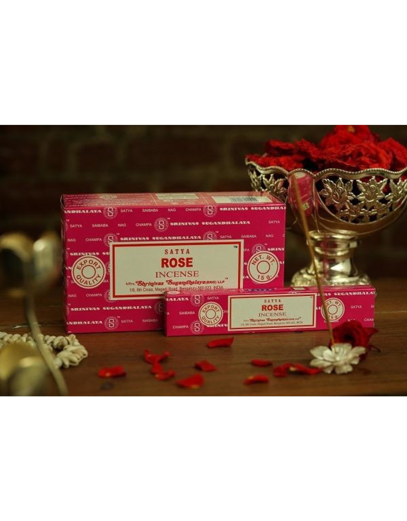 Satya Rose 15 Gram Incense Stick