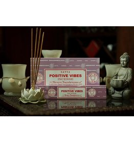 Satya Positive Vibes 15 Gram Incense Stick