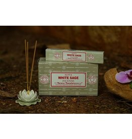 Satya White Sage 15 Gram Incense Stick