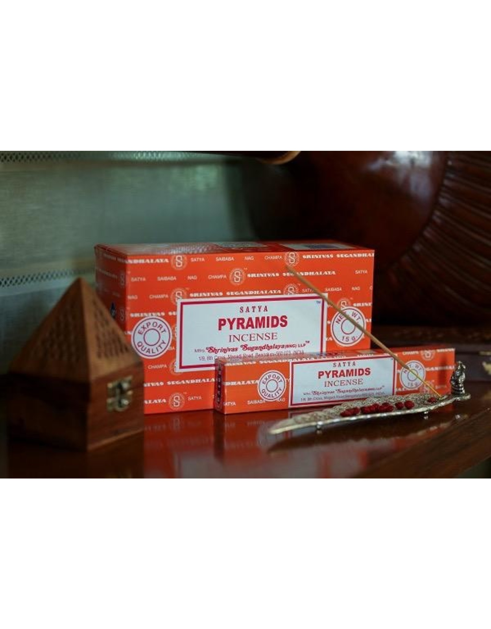 Satya Pyramids 15 Gram Incense Stick