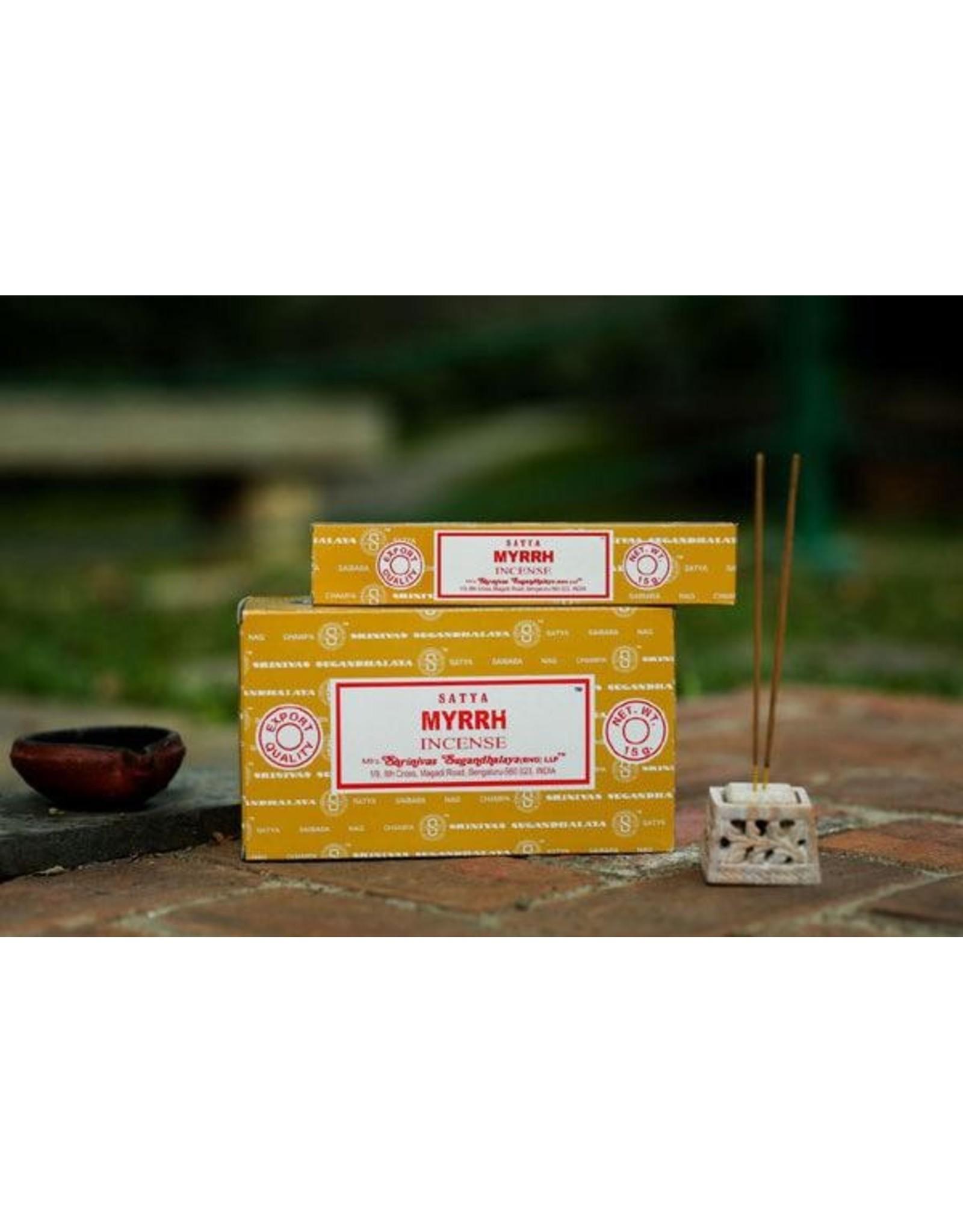 Satya Myrhh 15 Gram Incense Stick