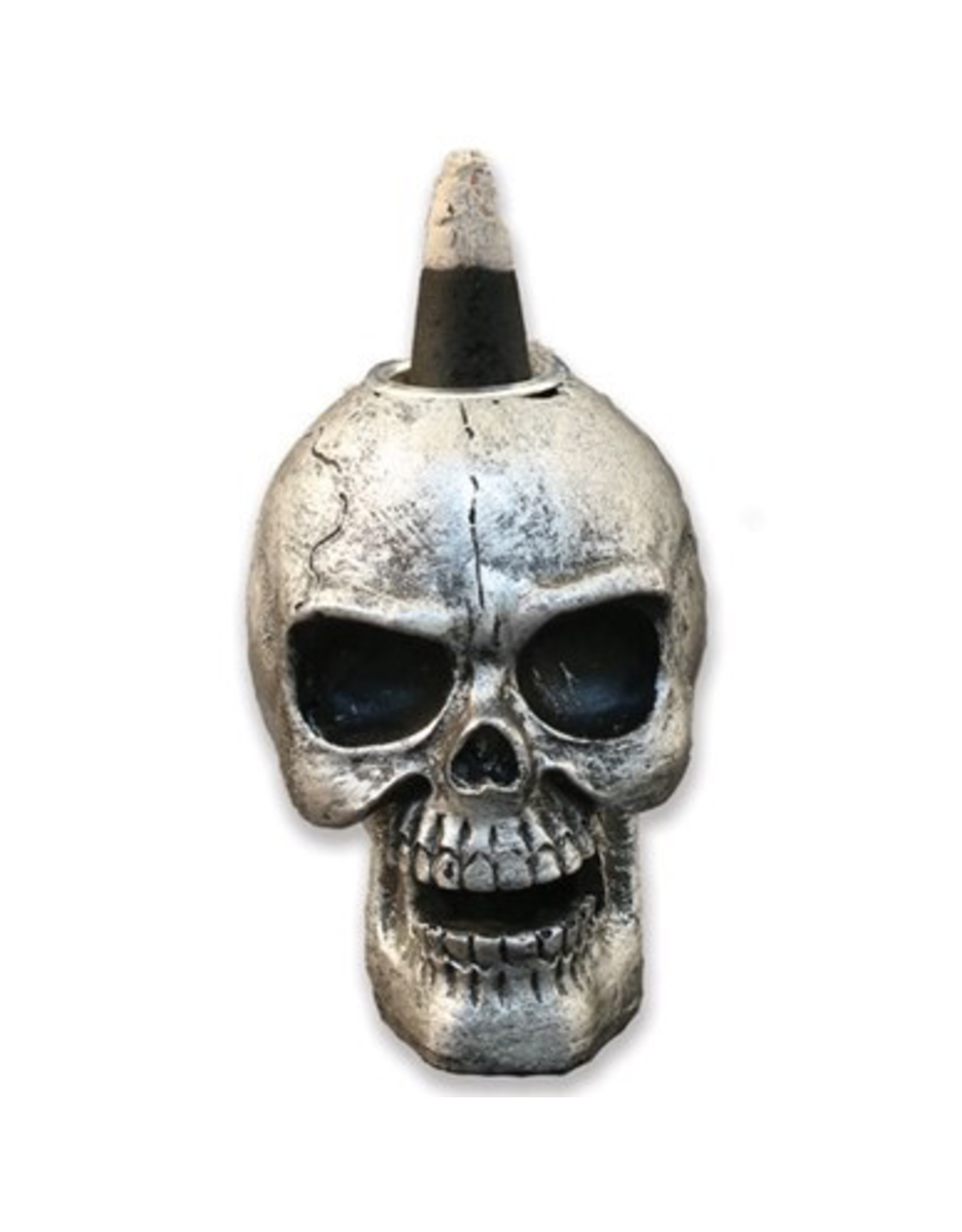 Mini Skull Backflow Incense Cone Burner
