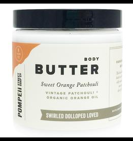 Pompeii Sweet Orange Patchouli Body Butter