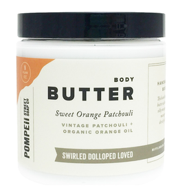 Sweet Orange Patchouli Body Butter