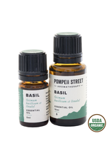 Organic Basil, Sweet Essential Oil 15ml