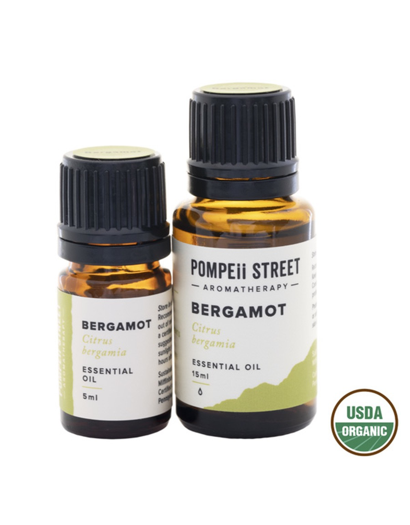 Organic Bergamot Essential Oil 15ml