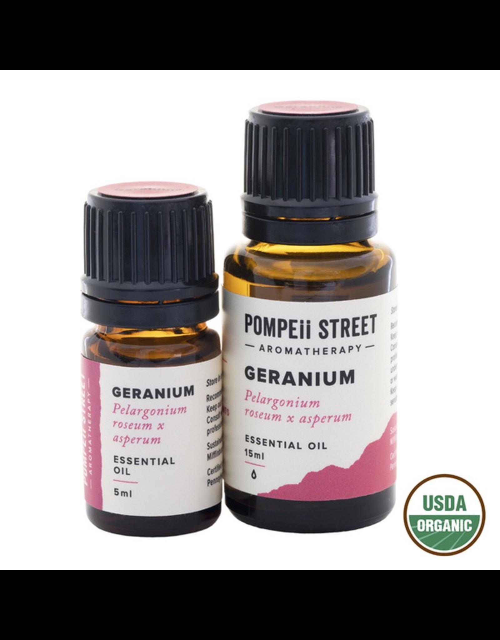 Organic Geranium Essential Oil 15ml