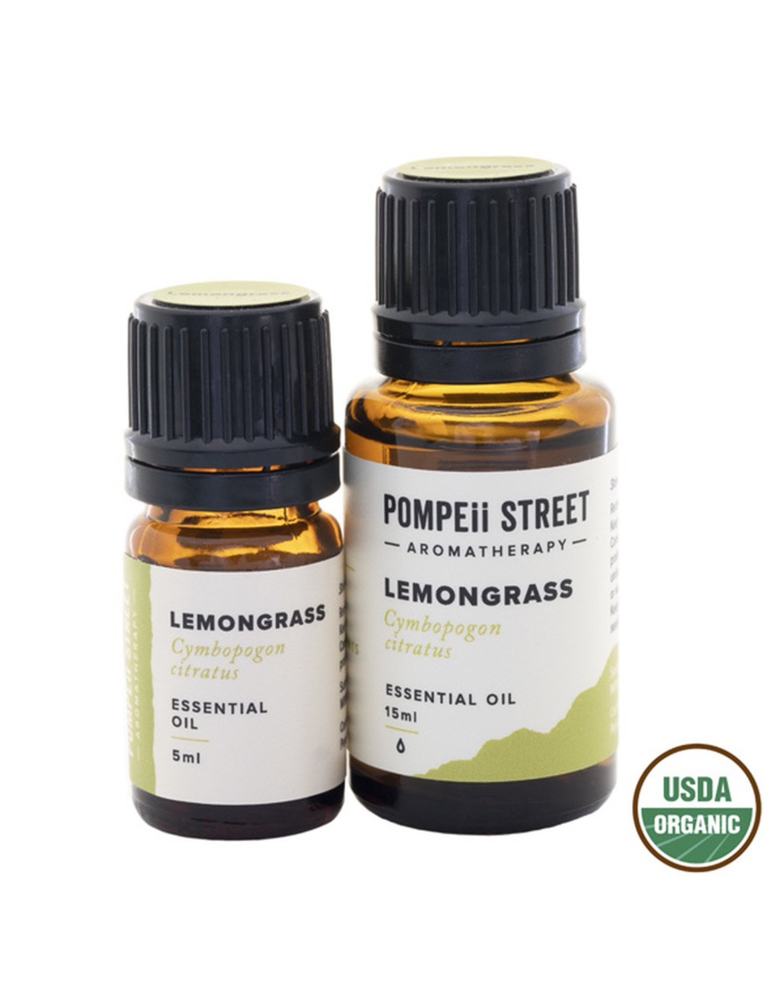 Organic Lemongrass Essential Oil 15ml