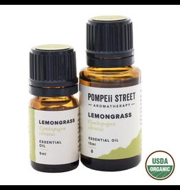 Organic Lemongrass Essential Oil 15ml