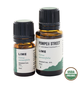 Pompeii Organic Lime Essential Oil 15ml