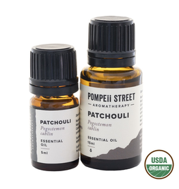 Pompeii Organic Patchouli Essential Oil 15ml