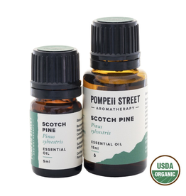 Pompeii Organic Pine, Scotch Essential Oil 15ml.