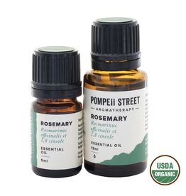 Pompeii Organic Rosemary Essential Oil 15ml